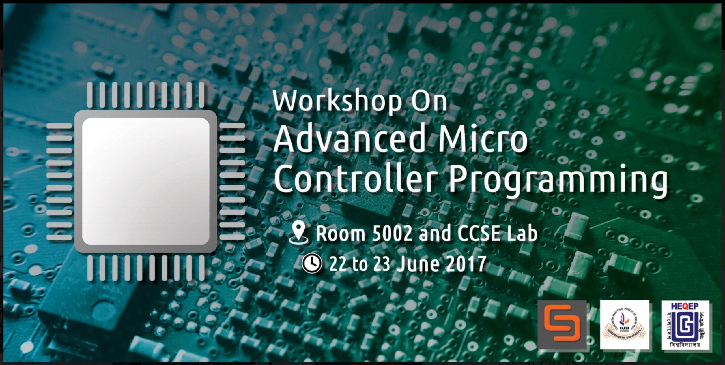 Workshop on Advanced Micro Controller Programming