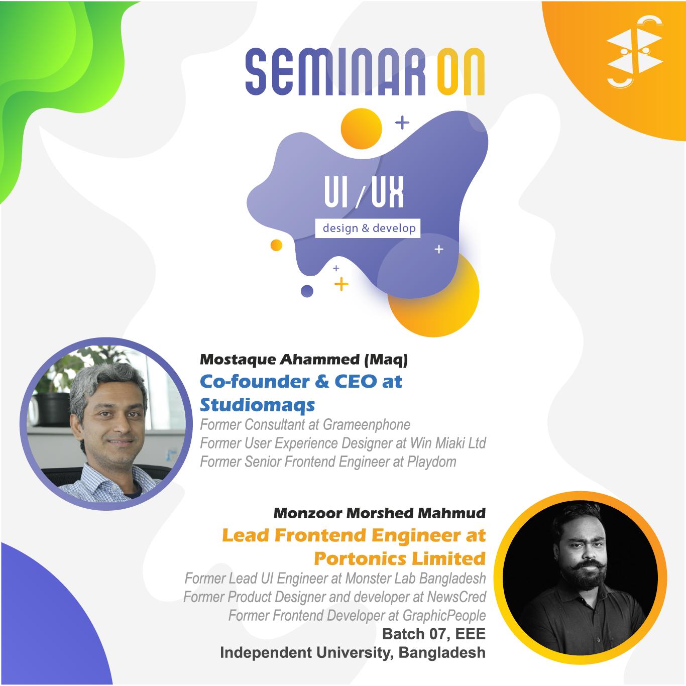 Seminar on UI/UX